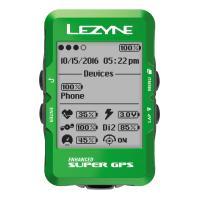 Велокомпьютер с GPS Lezyne SUPER GPS 2019 Limited Green