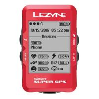 Велокомпьютер с GPS Lezyne SUPER GPS 2019 Limited Red