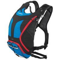 Рюкзак велосипедный Shimano Daypack UNZEN 10L красно-синий