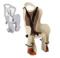 Сиденье для детей Bellelli Baseli Carrier на багажник, бежевое/коричнев.
