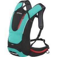 Рюкзак велосипедный Shimano ROKKO 8L All-Round Daypack черно-зеленый
