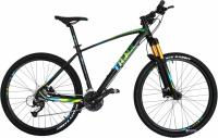 "Велосипед Trinx Big7 B700 27.5"" 18"" Matt Black Green Black"