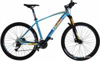 "Велосипед Trinx Big7 B700 27.5"" 18"" Matt Blue Orange Blue"