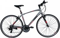 Велосипед шоссе Trinx Free 1.0 700C 470mm Grey Black Red