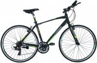 Велосипед шоссе Trinx Free 1.0 700C 470mm Matt Black Grey Green