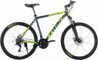 "Велосипед горный Trinx M116 Elite 27.5"" Matt Grey Green Yellow"