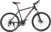 "Велосипед TRINX Majestic M136 26"" Matt Black Red Grey"