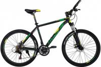 "Велосипед TRINX Majestic M136 26"" Matt Black Yellow Green"