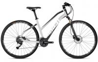 """Велосипед Ghost Square Cross 1.8 Lady 28"""" Silver Black White 2019"""